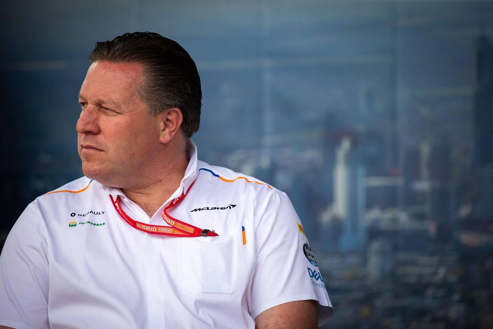 Zak Brown cree que Aston Martin será muy competitivo en 2021