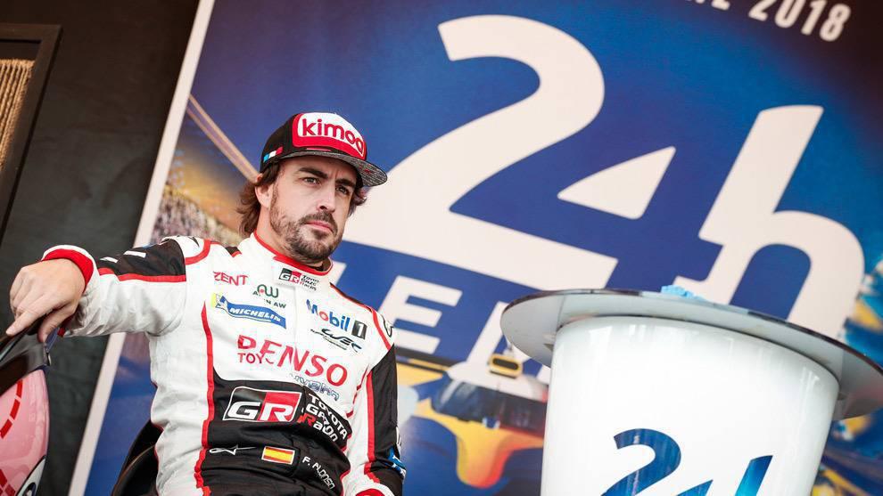 """Alonso: """"Ganar las 24 horas de LeMans o competir en el Dakar son desafíos de los que estoy orgulloso"""""""