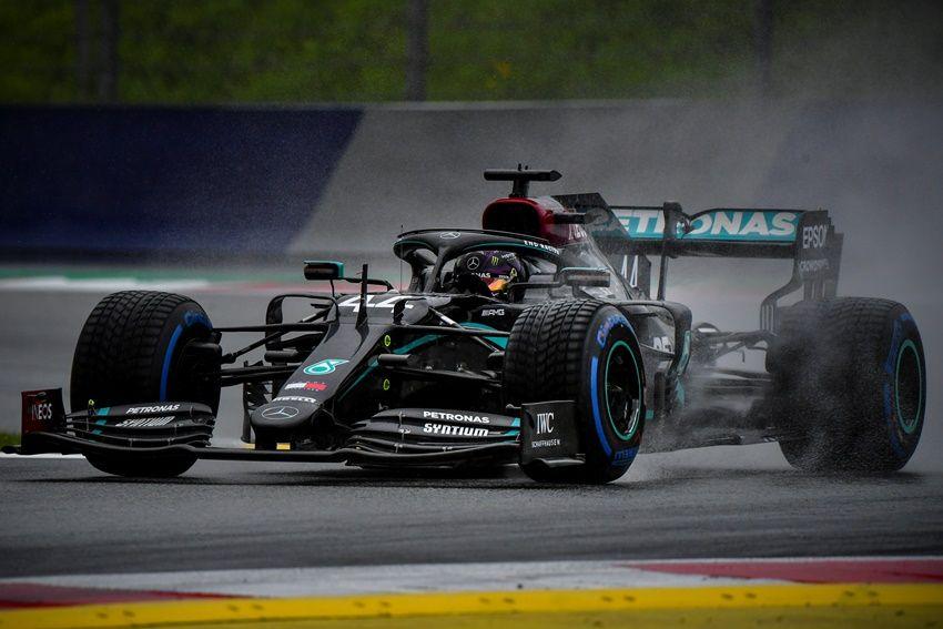 Lewis Hamilton consigue la pole del GP de Estiria; Verstappen y Sainz completan el top 3