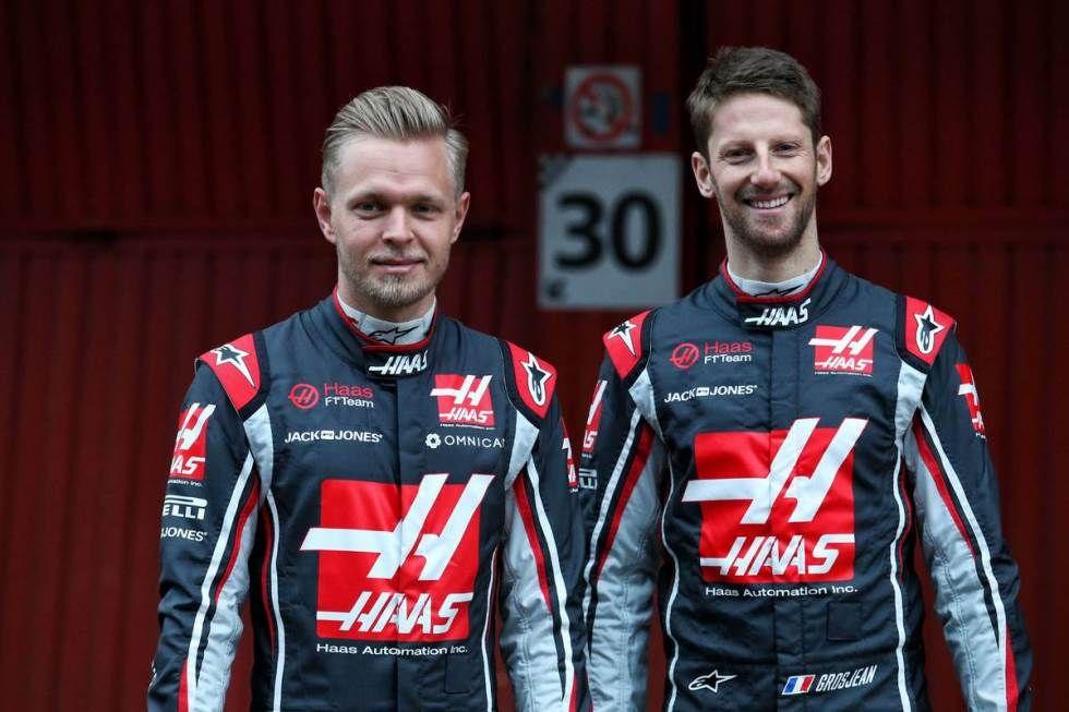 Grosjean y Magnussen dejarán Haas F1 Team a finales de 2020