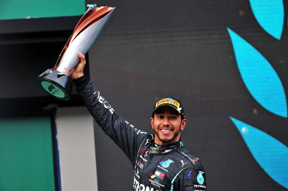 ¡Lewis Hamilton consigue el título en el Gran Premio de Turquía!