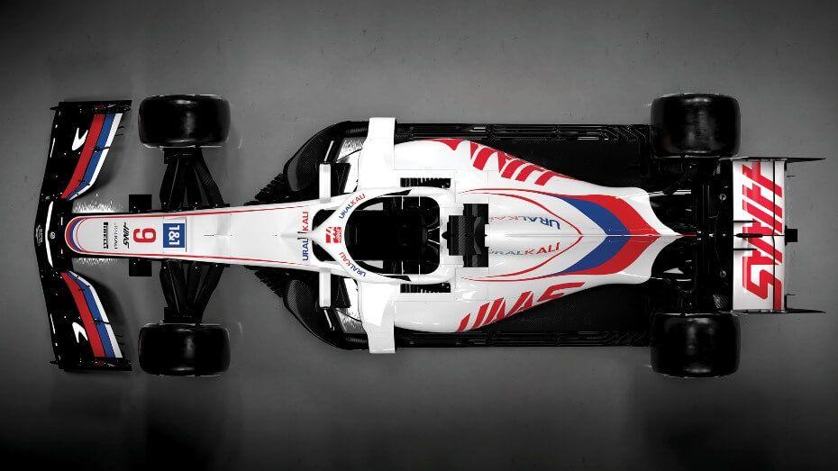 Haas F1 Team presenta el diseño del nuevo VF-21