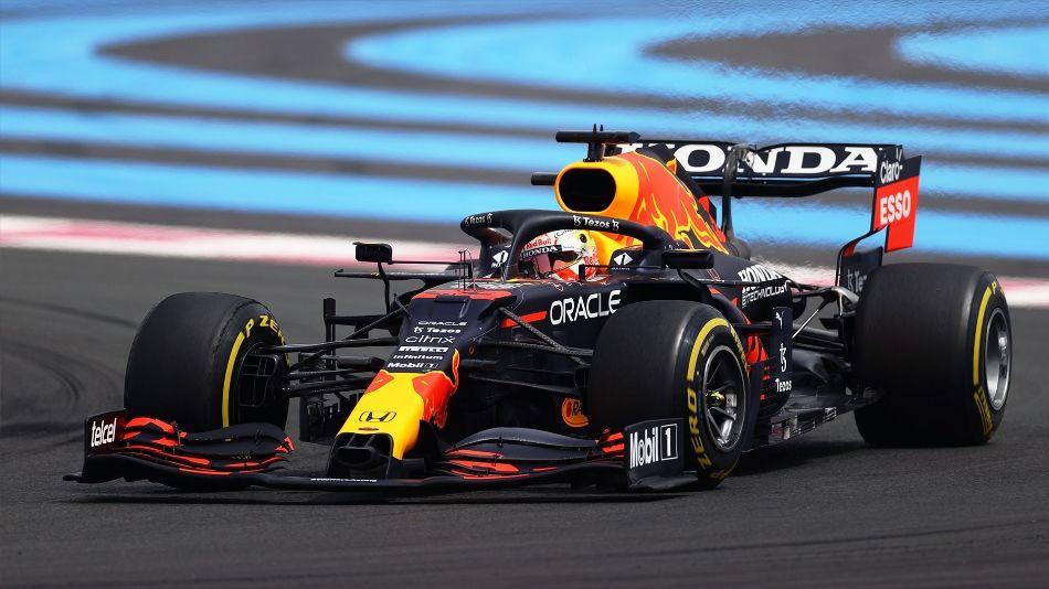 """Verstappen sobre su victoria en el GP de Francia: """"Hemos hecho dos paradas y hemos tenido suerte"""""""