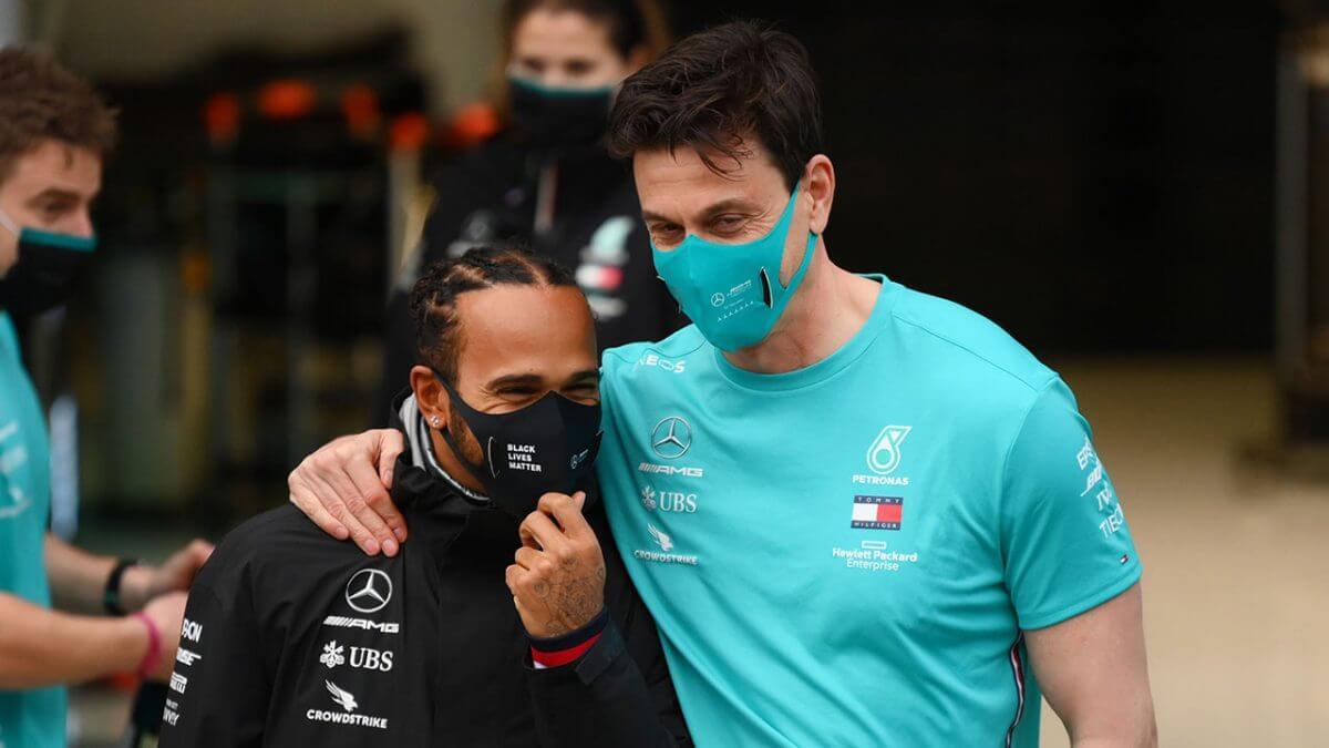 Hamilton no necesita demostrar nada a nadie, es ganador de 99 carreras y 7 veces campeón del mundo: Toto Wolff