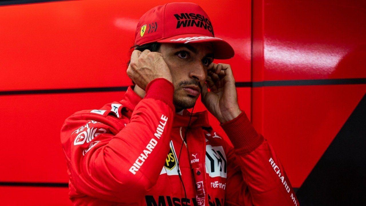 """Sainz confiesa que tuvo un GP de Rusia lleno de emociones: """"Por un momento me olvidé del podio, y de pronto ya era tercero"""""""