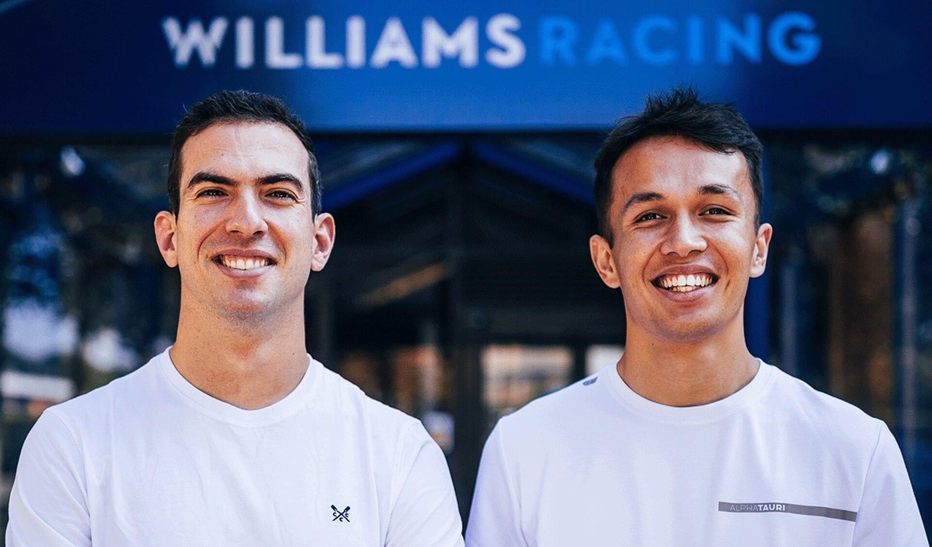 Alex Albon y Nicholas Latifi confirmados por Williams para 2022