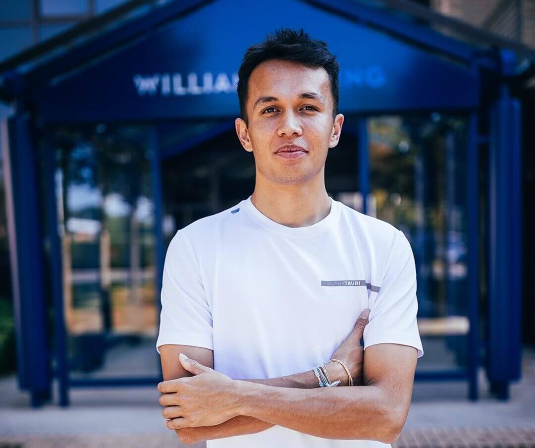 """Alex Albon sobre las cláusulas de confidencialidad en su contrato con Williams: """"No tengo ni idea, para ser sincero"""""""