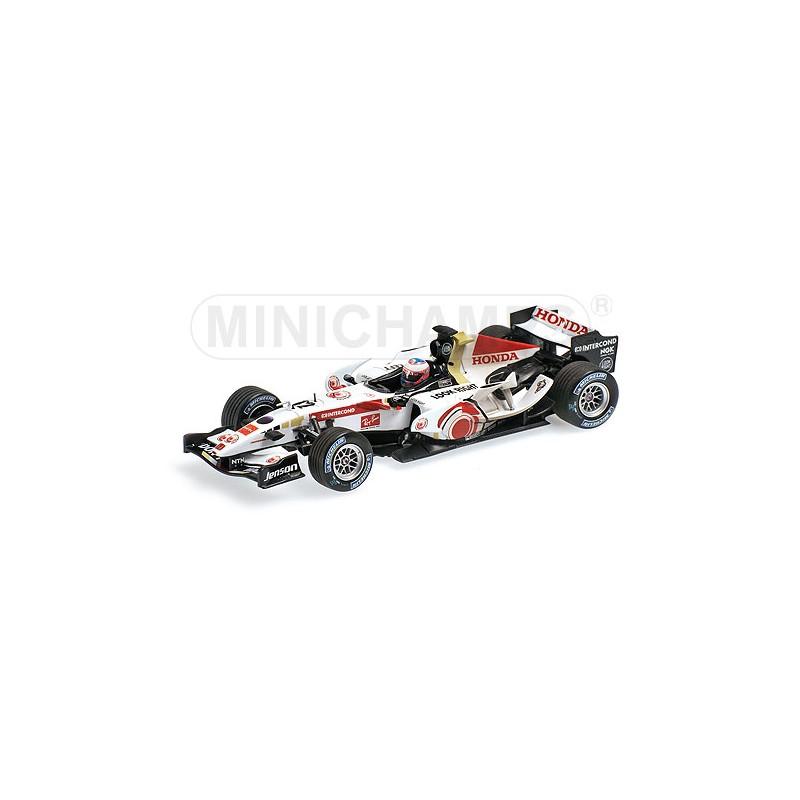 Honda F1 Racing RA106 J.Button Winner 2006 Hungary GP