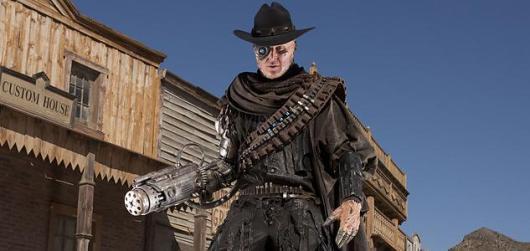 Cyborg Pistolero Doctor Who