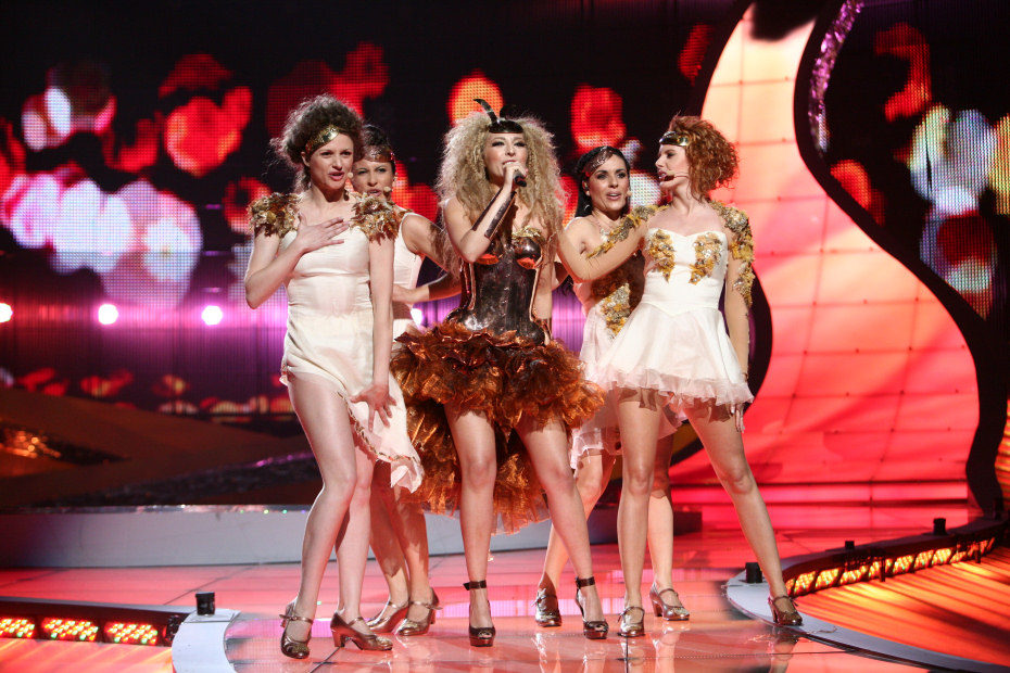 Resultado de imagen de gisela eurovision