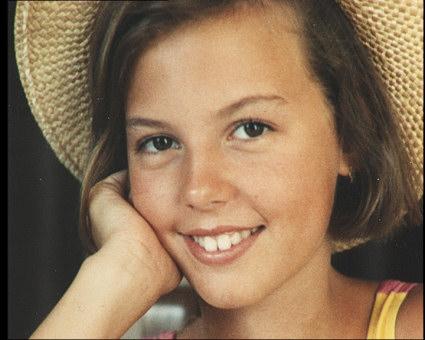 Pilar Galan en su infancia //www.formulatv.com