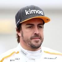 Comeback: Alonso is nog een beetje roestig