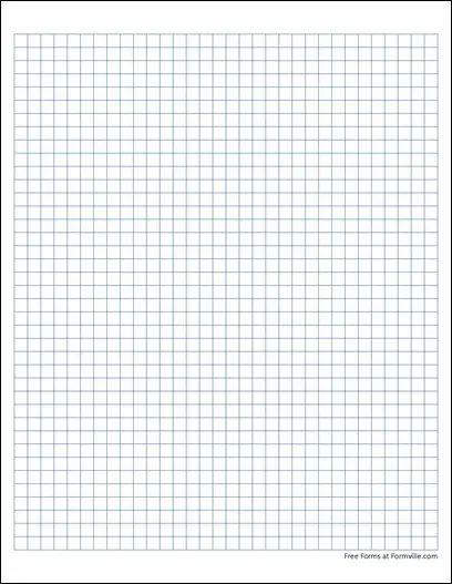 4 square inch graph paper