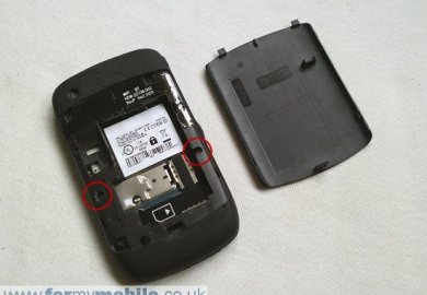 Blackberry Curve 8520 Sim Card
