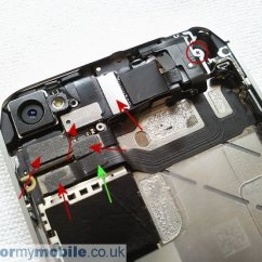 Back Of Iphone 4s Diagram Fender Guitar Wiring Disassembly Screen Replacement And Repair Apple Stage 10