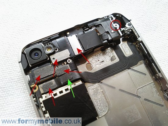 iphone 4 disassembly diagram 71 chevelle wiring 4s disassembly, screen replacement and repair