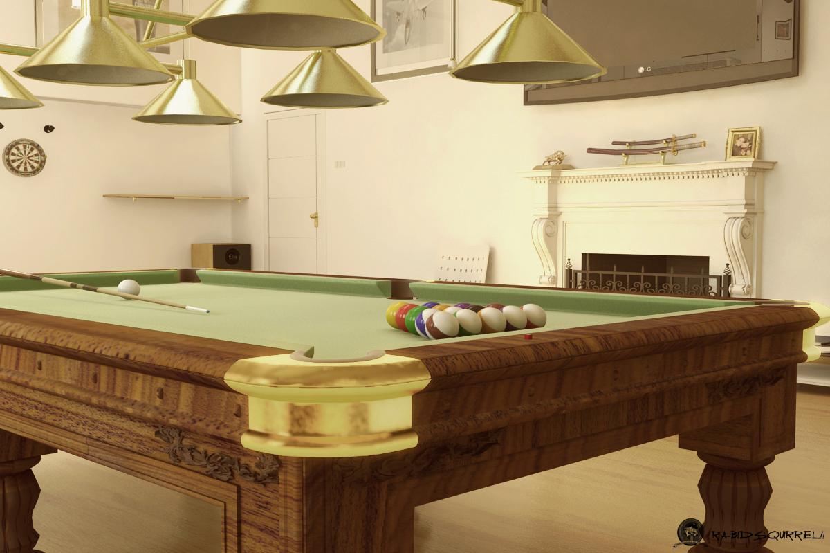Salon de juegos billas bar dardos sala de tv