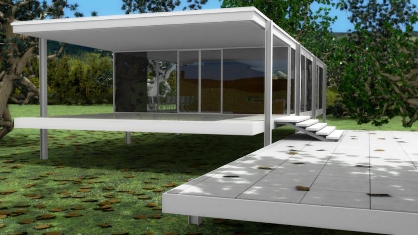 Blender casa Farnsworth