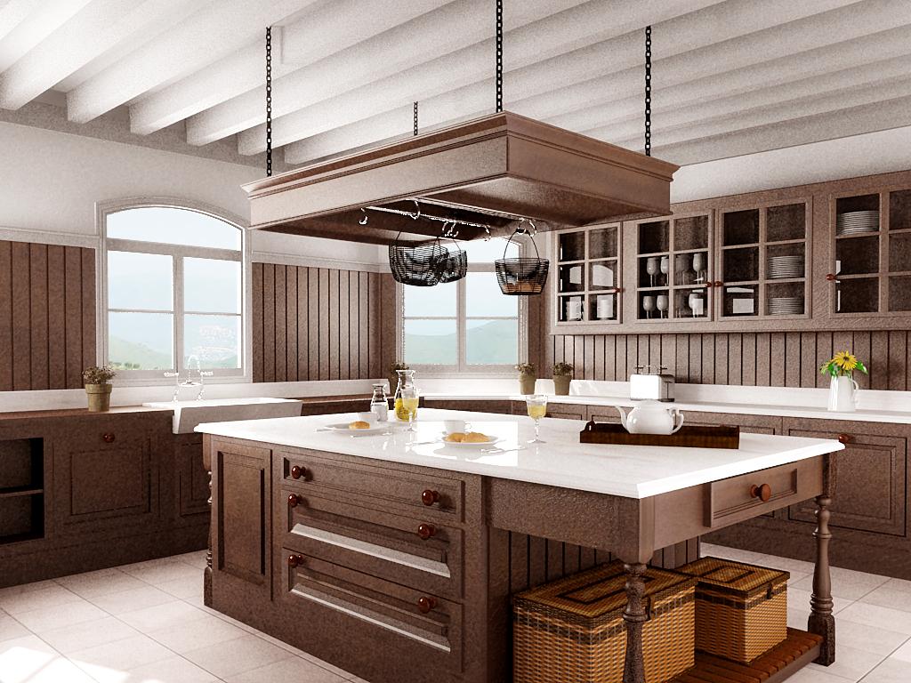 Cocina de madera home depot ideas para el hogar - Madera tratada para exteriores home depot ...