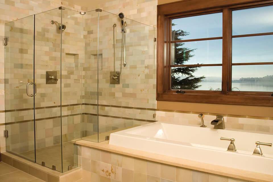 before installing frameless shower doors