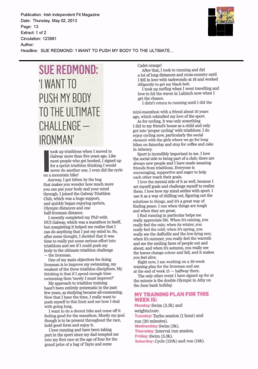 Sue Redmond, Foróige's Best Practice Manager in today's