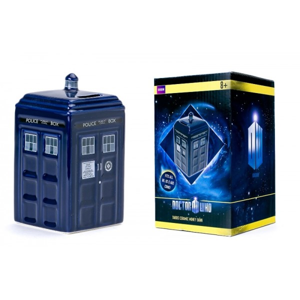 Tirelire Tardis De Doctor Who 16cm