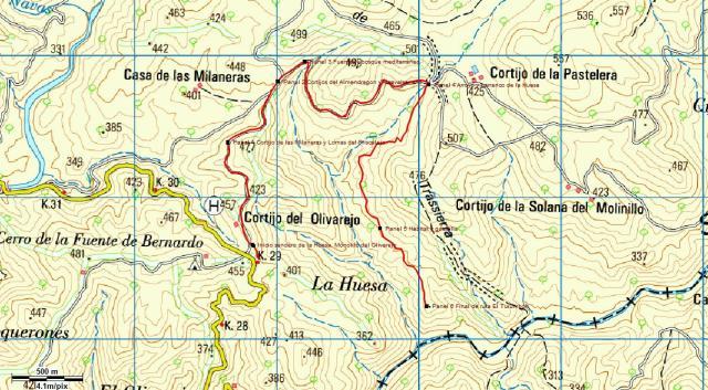 Ruta Olivarejo al Turumbon imagen