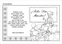 Best Of Dia Del Maestro Dibujos Para Pintar