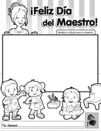 Cool Dibujos Sobre El Dia Del Maestro