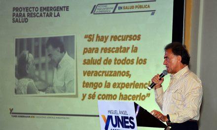 """Mi gobierno mejorará radicalmente la calidad y cobertura de los servicios de salud"""": Miguel Ángel Yunes Linares"""