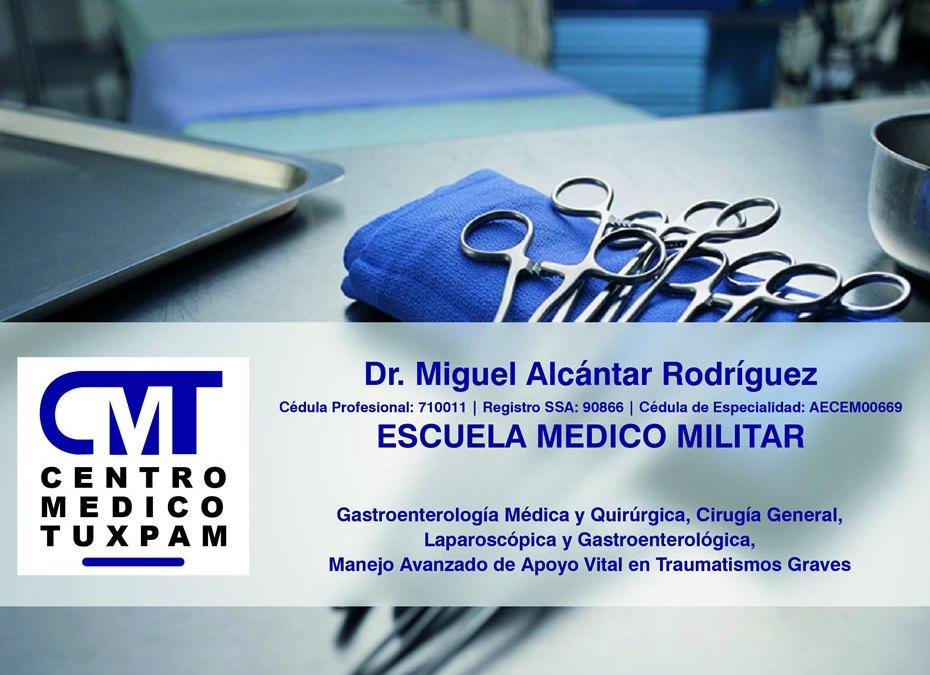 Dr. Miguel Alcantar Rodriguez