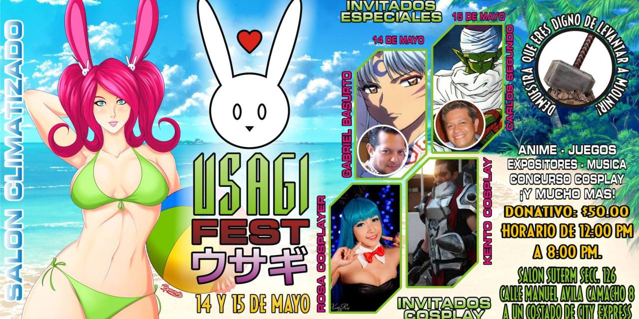 USAGI FEST 14 Y 15 DE MAYO 2016