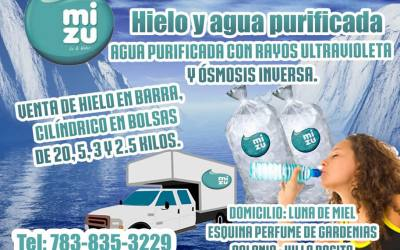 Hielo y Agua Mizu