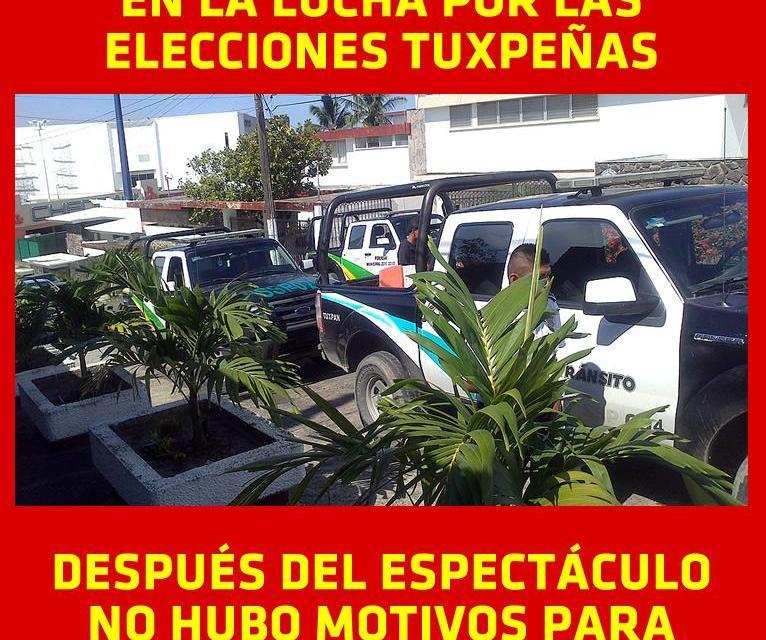 PREPOTENCIA AL 100% DE LOS ELEMENTOS DE TRÁNSITO EN UNA VENDETTA POLÍTICA