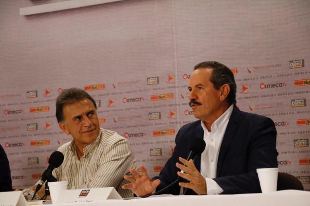 Sin descalificaciones y diatribas; Juan Bueno Torio gana ponderando propuestas para Veracruz