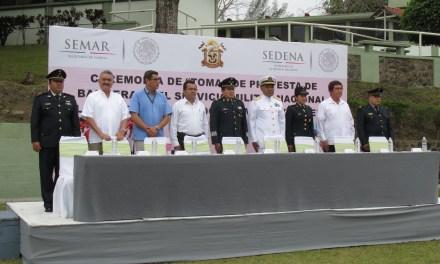 Conmemoración del 5 de mayo y jura de Bandera del SMN