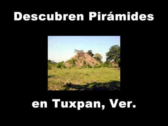 Descubren pirámides cubiertas de lodo y hierba en Veracruz