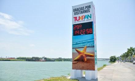 Ayuntamiento de Tuxpan refuerza trabajos de mejoramiento de la imagen urbana