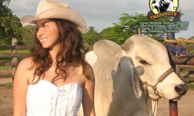 Myrna Gabriela Cabrera Vázquez Reina de la Expo Tuxpan 2008