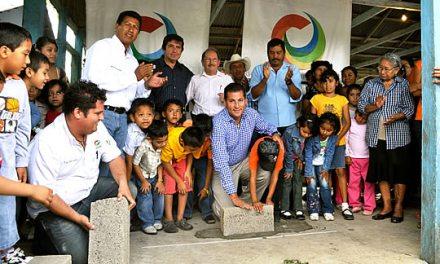 Inicia ASR la construcción de un nuevo domo para la comunidad de Chijolar en Tuxpan