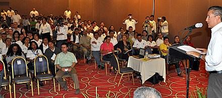 Inician en Tuxpan los foros regionales de blindaje electoral para servidores públicos