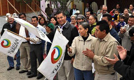 Inicia ASR una nueva pavimentación en Tuxpan