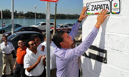 Inicia ASR la colocación de nomenclaturas en calles de toda la ciudad
