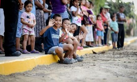 Inauguran Obras en Villa Rosita I y San Antonio