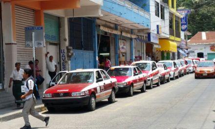 Taxistas solicitarán se incremente el costo del pasaje