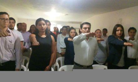 Rinden protesta  presidentes de consejos municipales del OPLE zona norte
