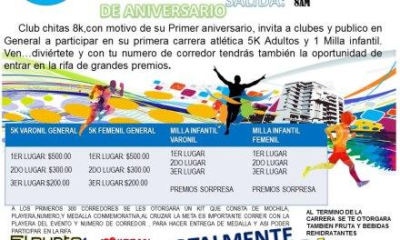 GRAN CARRERA DE ANIVERSARIO CLUB CHITAS