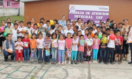 DIF Tuxpan atiende necesidades de familias de la zona rural
