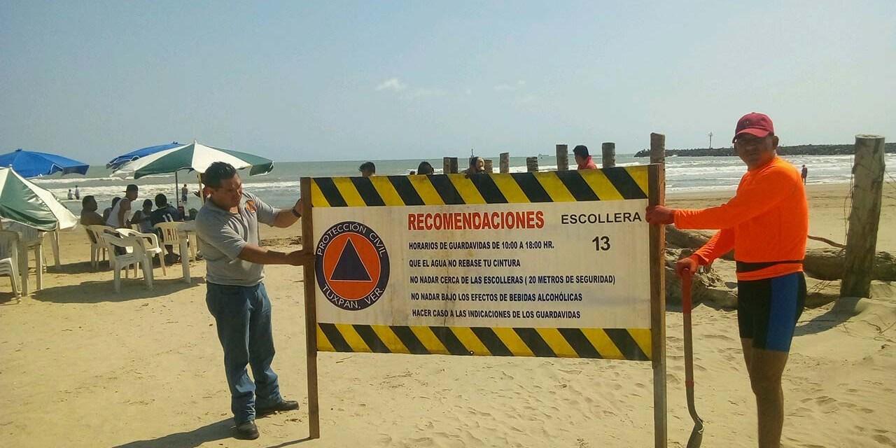 REPORTAN AUTORIDADES MUNICIPALES, MÁS DE 13 MIL TURISTAS Y SALDO BLANCO