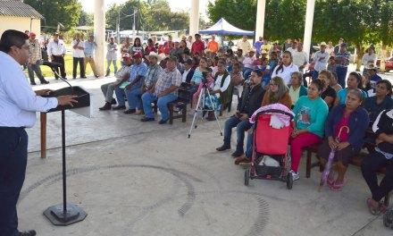 Prioridad al campo y gobierno cercano: Toño Aguilar